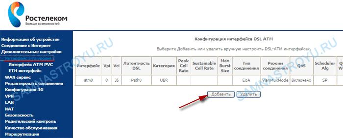 Настройка iptv ростелеком программы тв нтв плюс