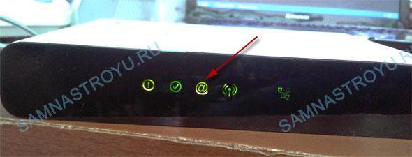 Индикация с настроенным Интернетом